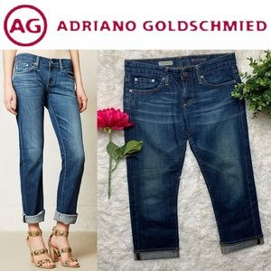 AG The Tomboy Relaxed Straight Crop